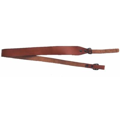 Bretella larga per carabina in vacchetta non rivestita - SAG NATURE